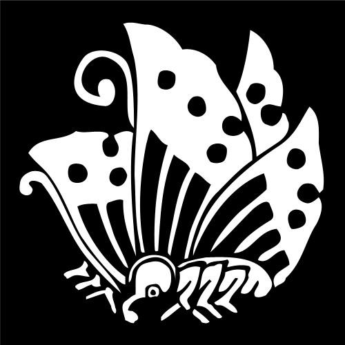 Japanese Butterfly Crest; Asia