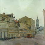 Balchug, Old Moscow. City landscape, views: 1895