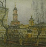 Menshikov a tower, Old Moscow. City landscape, views: 2192