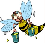 Cartoon Wasp, Cartoons, views: 3958
