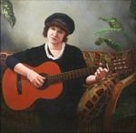 Vita with guitar, Classical portrait, views: 2290
