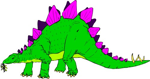 Animals: Stegosaurus