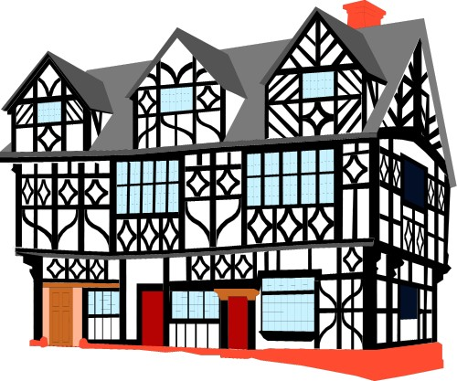 Elizabethan timber-framed house; Buildings
