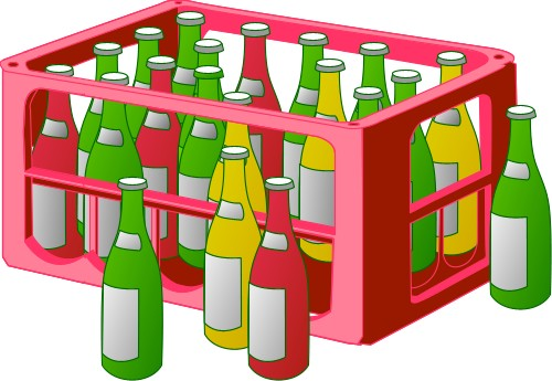 Beer; Crate, Bottle, Alcohol, Drink