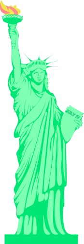 Statue of Liberty; Travel, United, States, One, Mile, Up, Statue, of, Liberty