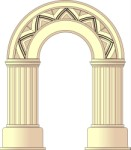 Typical roman arch, Buildings, views: 3323