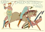 Part of the Bayeux tapestry, Graphics