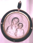 Mother of God «Kazanskaya», Cameo, views: 2967