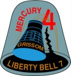 Liberty 7 Mission Crest, Space