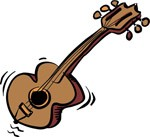 Cartoon guitar, Music, views: 15338